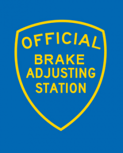 Fara\'s Auto -Brake adjustment station in our full service automotive repair and our 24-hour gas station